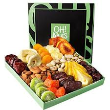 food christmas gifts nut dried fruit gift basket healthy gourmet food