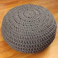 best 25 crochet pouf pattern ideas on pinterest crochet floor