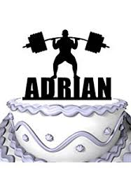 weight lifting cake topper weight lifting dumbbells cake cupcake toppers picks