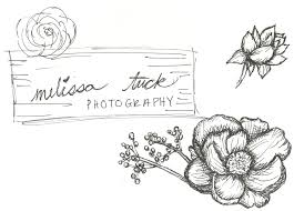 wedding flowers drawing branding linkedesign