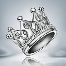 sterling silver wedding gifts design 925 sterling silver crown finger ring 7 8 fashion