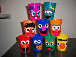 favor cups sesame birthday party favor cups price is for 1 cup