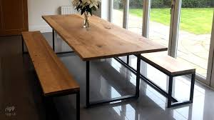 dining table and bench set spacious loop dining table benches oak and bench edinburghrootmap