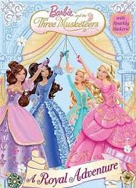 librarika barbie musketeers barbie pictureback