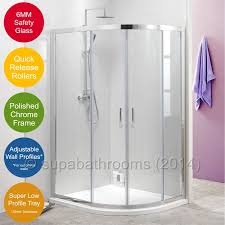 Shower Door Parts Uk by Walk In Shower Enclosure 8mm Toughened Glass Flipper Screen
