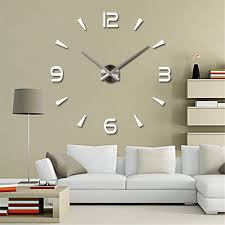 online buy wholesale clock wall decor from china clock wall decor 3d diy wall clock home modern decoration crystal mirror sticker living room on sale china