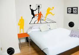 panier de basket chambre sticker basket sticker panneau scores decorecebo