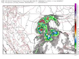 harvey u0027s mammoth deluge potential models showing storm