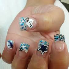 11 dallas cowboy nail design dallas cowboys nails youtube biz