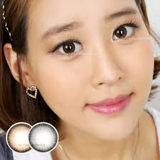 Most Comfortable Contacts For Astigmatism Only At E Circlelens Aida Gray Toric Contact Lenses For