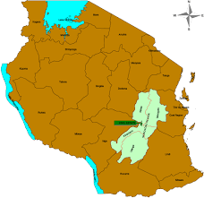 Tanzania Map Tanzania