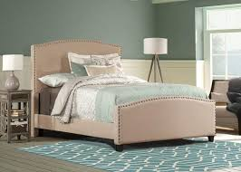 Bedroom Taupe Kinsley Queen Bed Taupe Queen Beds Bedroom