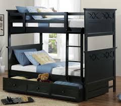Bunk Bed Bedroom Set Homelegance Sanibel Bunk Bed Bedroom Set In Black