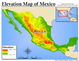 political map of mexico maps of mexico speaklounge