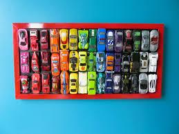 diy rainbow car wall art use your old matchbox and wheel