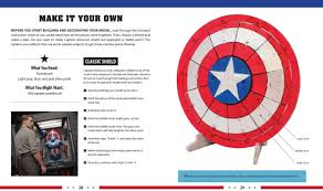 captain america shield light target incredibuilds marvel s captain america civil war 3d wood model
