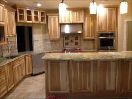 Natural Hickory Kitchen Cabinets Kitchen Rustic Hickory Cabinets Home Depot Hickory Cabinets