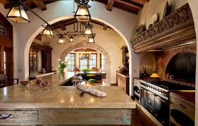 interior tasty home design spanish mediterranean kitchen photos