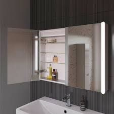 Bathroom Mirror Cabinets With Light And Shaver Socket Some Excellent Led Bathroom Mirrors With Shaver Socket Examples