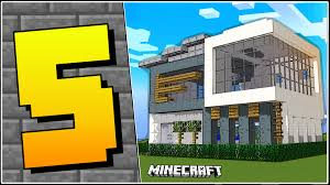 5 types of houses in minecraft youtube