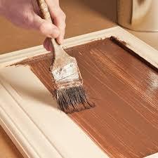 peindre des armoires de cuisine en bois réaliser un faux fini bois sur une armoire de mélamine en é