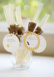chagne wedding favors baby shower favors change label nothing sweeter than babies or