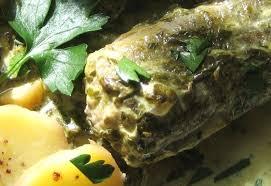 cuisiner l anguille anguille au vert recettes cuisine française