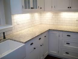 Beveled Subway Tile Backsplash - Crackle subway tile backsplash