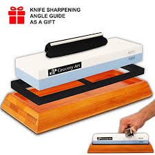 professional whetstone knife sharpener 2sided grit 10006000 with