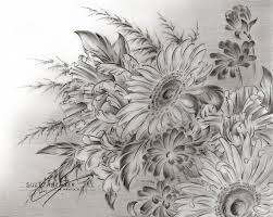 25 unique pencil drawings of flowers ideas on pinterest color