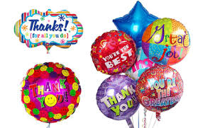 send balloons belfast balloon delivery thank you balloons thank you balloon bouquet delivery
