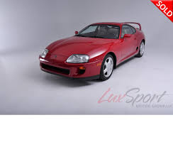 toyota main dealer 1994 toyota supra twin turbo turbo stock 1994101 for sale near