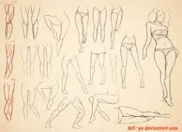 leg anatomy tutorial version 2 by jejihu on deviantart