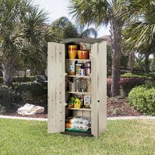 Garden Tool Storage Cabinets Rubbermaid Outdoor Storage Shed Vertical 6 Foot By 2 1 2 Foot