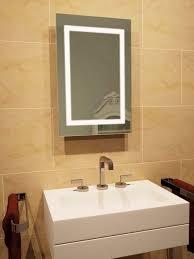 Led Backlit Bathroom Mirror Led Bathroom Mirror