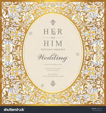 House Invitation Card Wedding Card Invitation Card Card Abstract Stock Vector 436457461