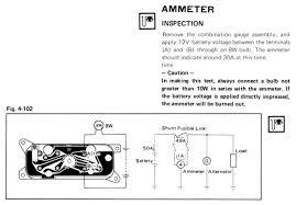 1stgencelica com u2022 view topic ammeter wiring help