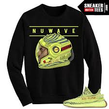 yeezy sweater boost 350 v2 semi frozen yellow crewneck sweater nuwave