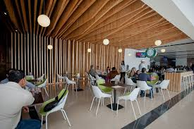Fast Casual Restaurant Interior Design Fast Casual Restaurant Design Ideas With Unique Ceiling Wood And