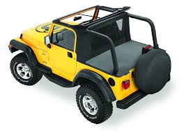 jeep wrangler top view tj tops black dog offroad