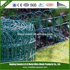 ornamental galvanized garden woven wire fence buy garden woven
