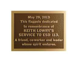bronze memorial plaques bronze plaques pella engraving company