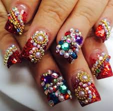 day 1 new year u0027s sparkle nail art nails magazine
