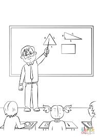 teacher coloring pages teacher coloring page printable 37636