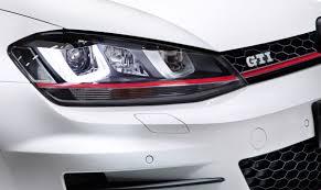 gti volkswagen 2014 2014 volkswagen mkvii golf gti bi xenon headlight eurocar news