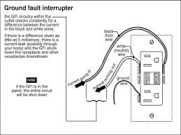 gfci wiring diagram for dummy s gfci wiring diagrams