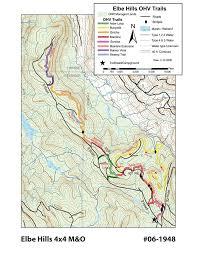 Mount Washington Trail Map by Elbe Hills