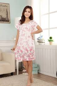 elderly nightgowns ms summer nightgown sleeved xl in elderly women with