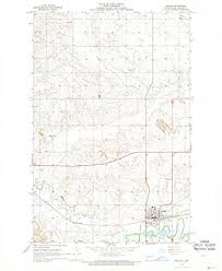beulah dakota map dakota maps 1968 beulah nd usgs historical