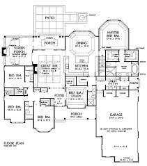 Five Bedroom House Plans 5 Bedroom Craftsman Ranch Craftsman Ranch Open Concept And Car